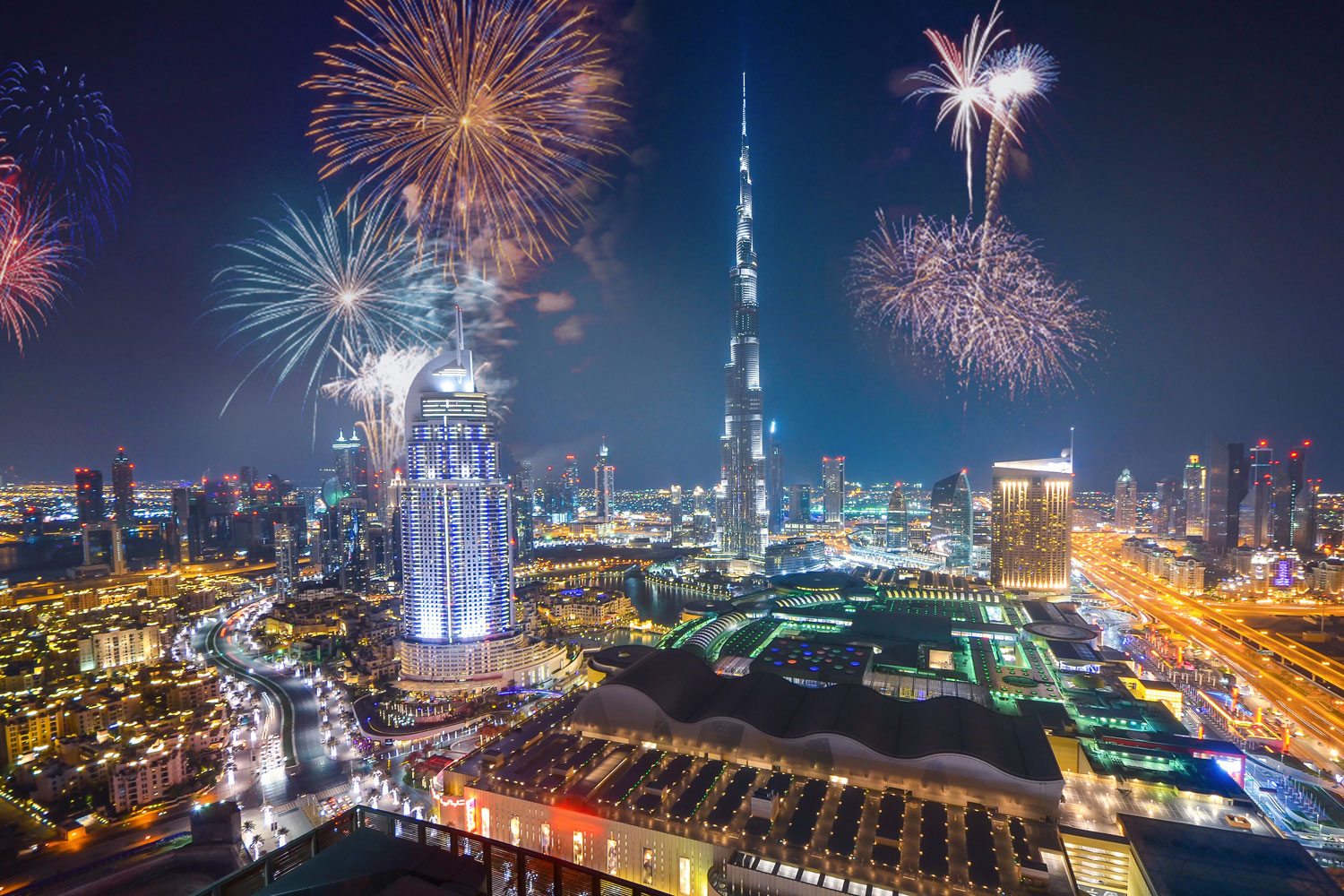 Welcome 2021 in Dubai with a Blast
